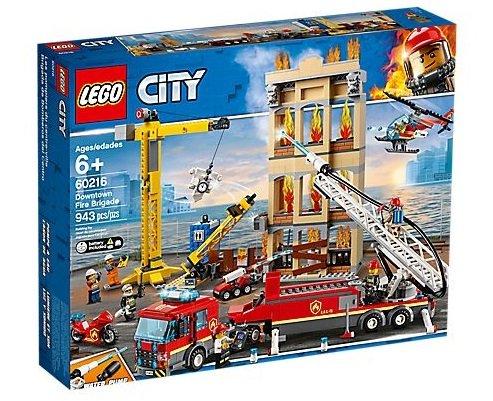 LEGO City 60216 Feuerwehr in der Stadt für 80,17€ inkl. VSK (statt 90€)