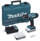 Makita DF457DWE Akku-Bohrschrauber inkl. 2 Akkus, Ladegerät + Koffer für 114,95€