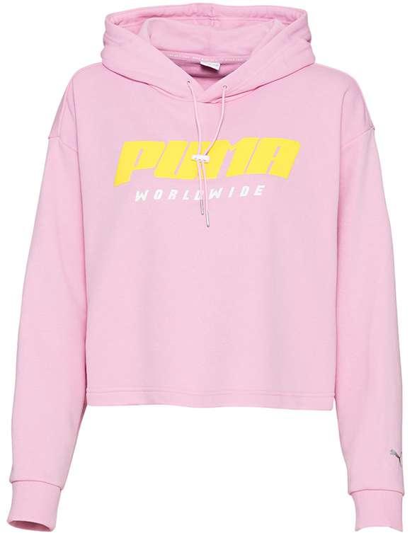 Puma Trailblazer Damen Hoodie in pink für 28,94€inkl. Versand (statt 35€)
