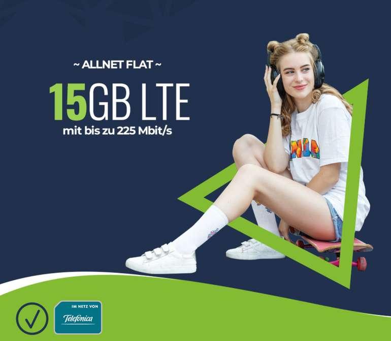 Mobilcom-Debitel: 15 GB Telefonica Allnet Flat (mtl. kündbar) + 3 Monate Readly/Deezer Gratis für 14,99€ mtl. (Anschluss: 9,99€)