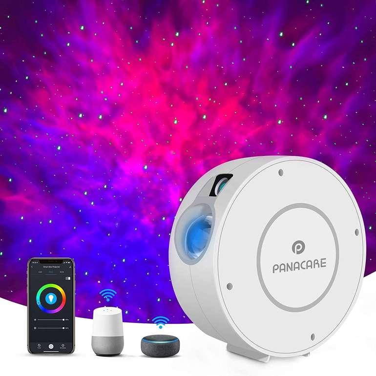 Panacare Sternenhimmel Projektor (Alexa/Google Home kompatibel) für 32,49€ (statt 50€)