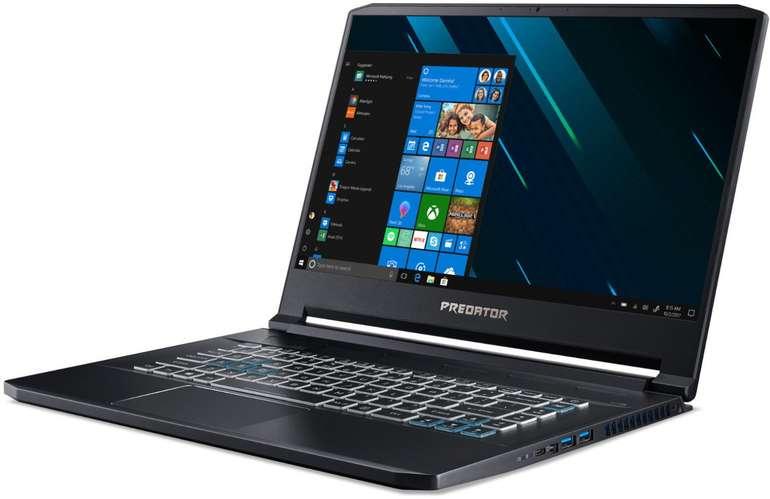 """Acer Predator Triton 500 - 15,6"""" Gaming-Notebook mit i7-8750H, RTX 2080, 16GB RAM für 1.699€ (statt 2.499€)"""