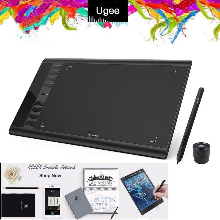 Ugee M708 Photo-Pal Grafiktablet für 34,74€ inkl. Versand (statt 40€)