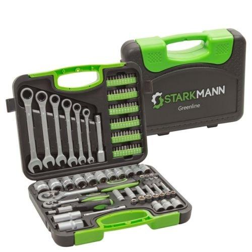 104-tlg. Starkmann Greenline Werkzeugsatz für 29,99€ inkl. Versand