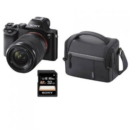 Sony Alpha 7 Kit (ILCE-7KB) 24,3 MP Kamera + Tasche + Speicherkarte für 699€ (statt 793€)