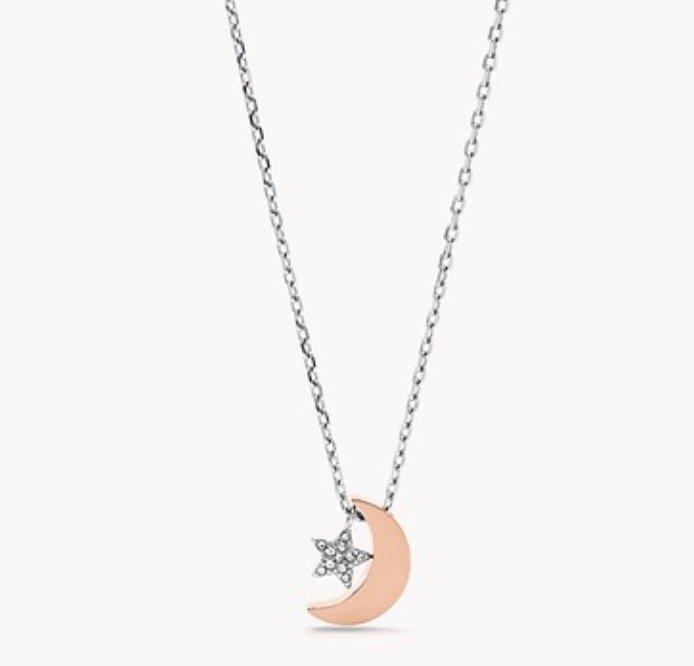 """Fossil JOF00518998 Damen Halskette """"Moon and Star"""" für 18,90€ inkl. Versand (statt 27€)"""