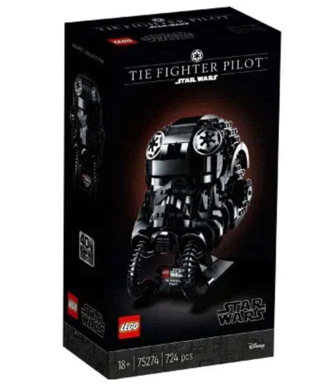 Lego Star Wars - TIE Fighter Pilot Helm (75274) für 58,48€ inkl. Versand (statt 78€)