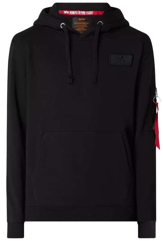 Alpha Industries Red Stripe Hoodie für 39,99€ inkl. Versand (statt 70€)