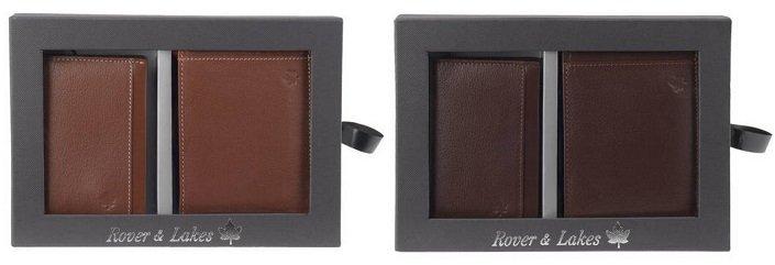 Rover & Lakes Brieftasche & Kartenetui in 3 Farben für je nur 15€ (statt 25€)