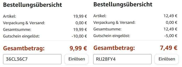 Amazon-Gutscheine