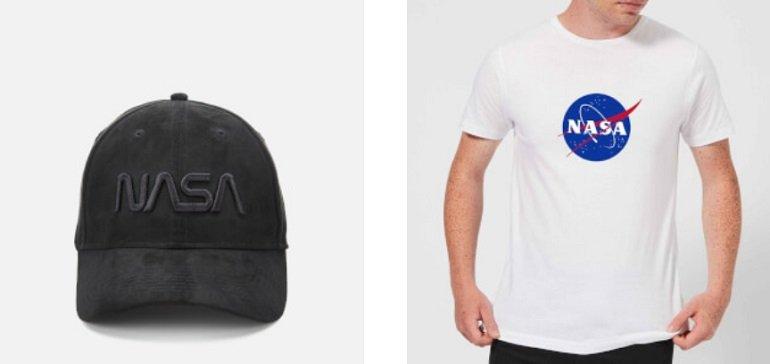Nasa T-Shirt Cap