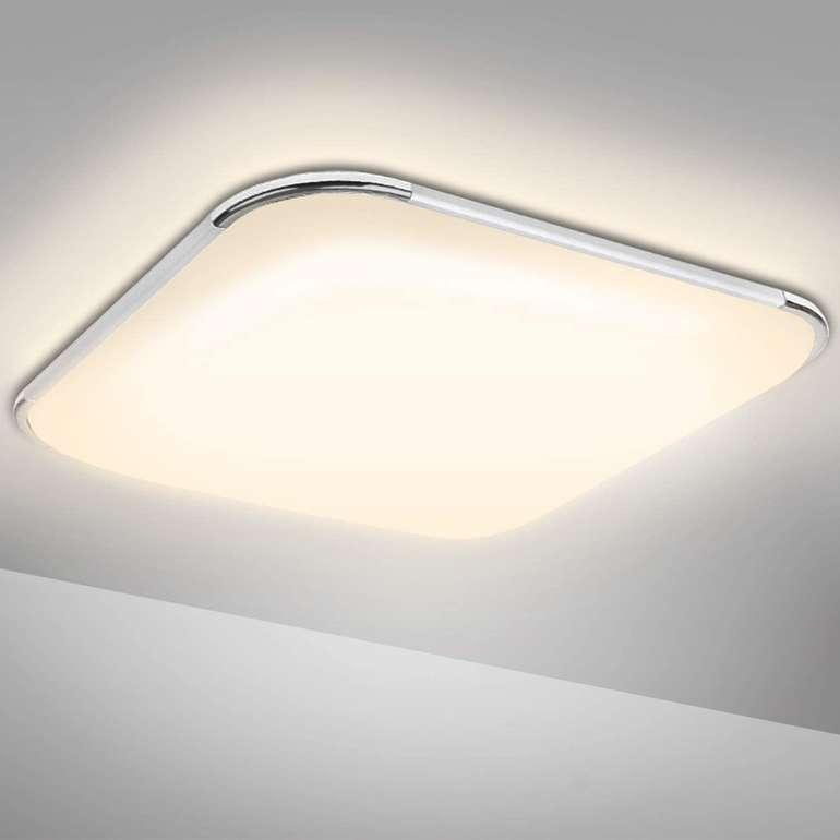 Hengda 24W LED Deckenleuchte (warmweiß, IP44) für 13,99€ inkl. Versand (statt 28€)
