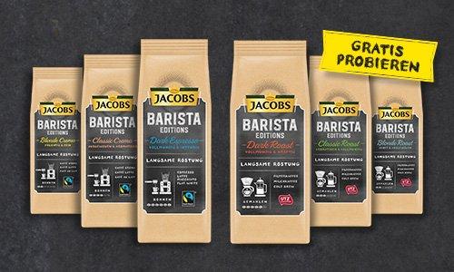 Jacobs Barista Editions gratis testen (GzG)