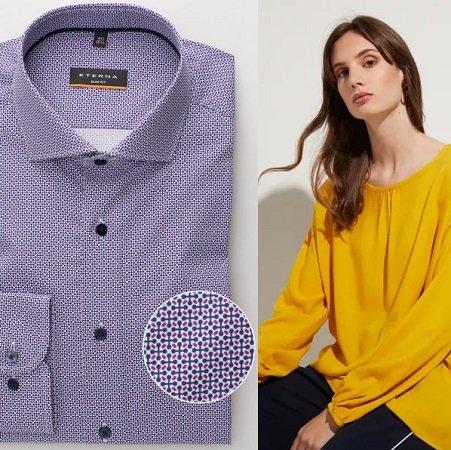 cheaper 12cc1 1dba9 Eterna: 50% Rabatt auf 3 Herren Hemden und 1 Damen Bluse, z.B.…