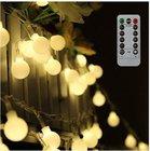 Tomshine - 10 Meter batteriebetriebene Lichterkette mit 80 LEDs für 10,49€