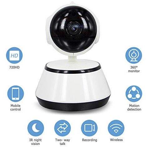 WiFi IP-Kamera mit Nachtsicht für 20,99€ + Digitaler Radio-Antennentuner 33,99€