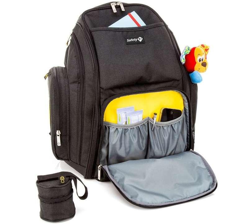 Safety 1st Wickelrucksack inkl. Wickelauflage & 17 Staufächern für 34,94€ inkl. Versand (statt 45€)