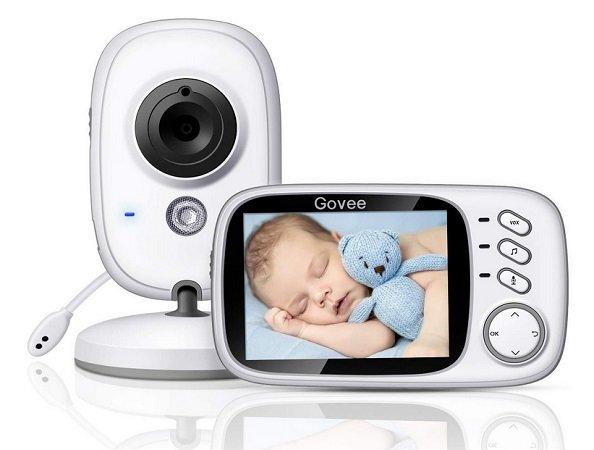 """Govee 3,2"""" Video-Baby-Monitor mit Mikrofon, Temperaturmesser & mehr für 41,99€"""