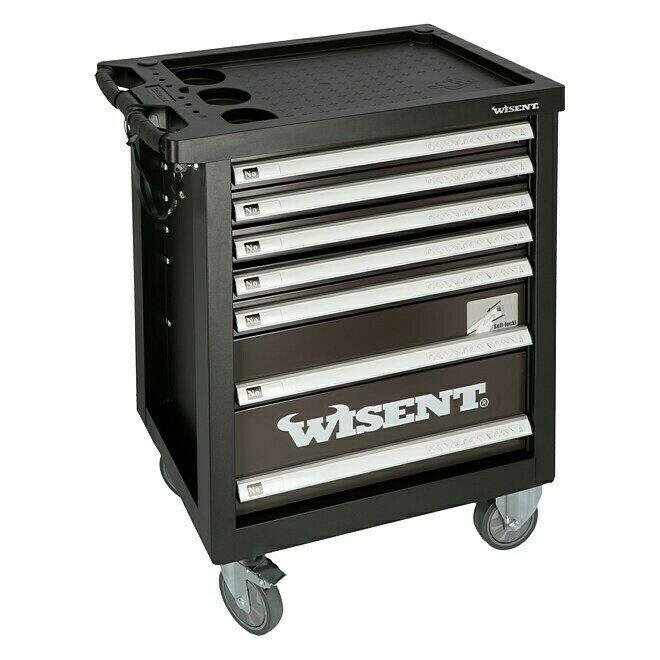 Wisent Werkstattwagen WW 5000 (Mit Werkzeug, 7 Schubladen) für 199€ inkl. Versand (statt 249€)