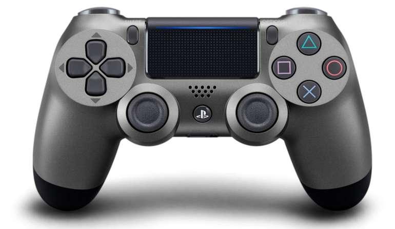 Sony DualShock 4 Wireless Controller V2 in Steel Black für 42,78€ inkl. Versand (statt 55€)