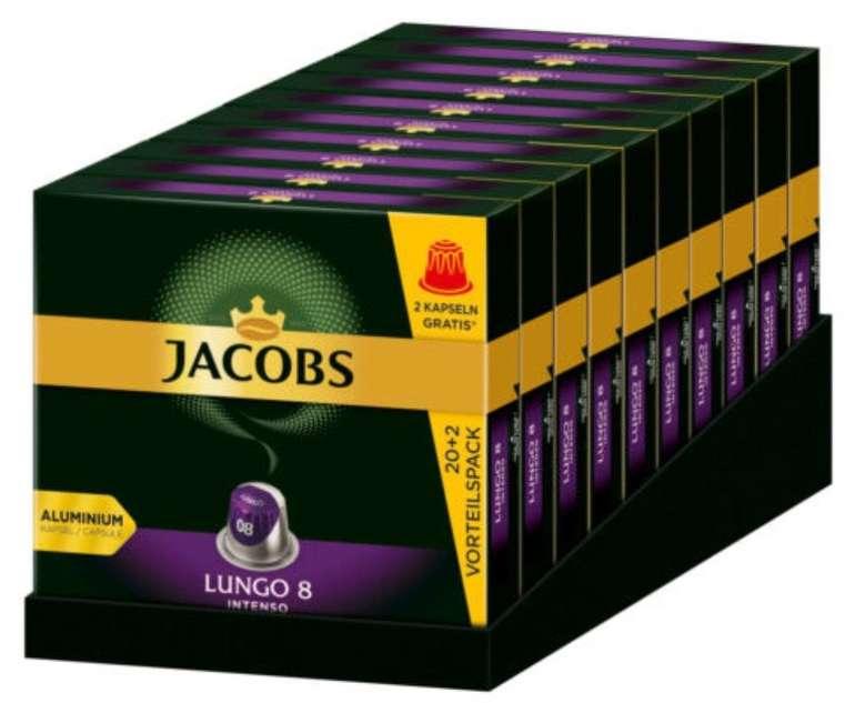 Jacobs Kapseln: 220 Lungo 8 Intenso (Nespresso kompatibel) für 34,90€ inkl. Versand (statt 40€)