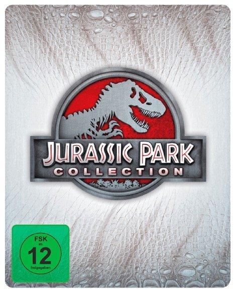 Jurassic Park Collection 1-4 Blu-ray Steelbook nur 16,97€ inkl. VSK (statt 31€)