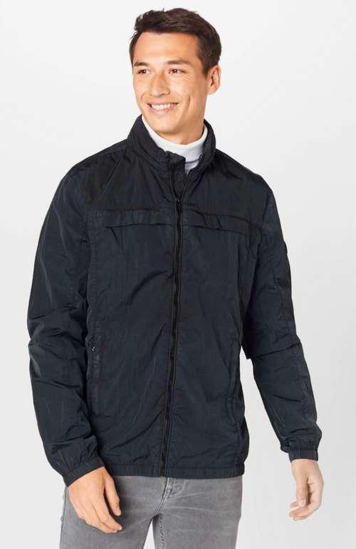 Guess Herren Übergangsjacke in schwarz für 44,90€ inkl. Versand (statt 75€)