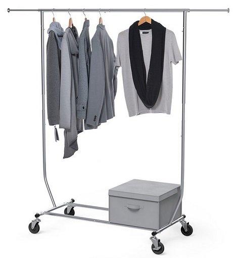 Sable - Zusammenklappbare Kleiderstange mit Aufbewahrungsbox für 19,99€ (Prime)