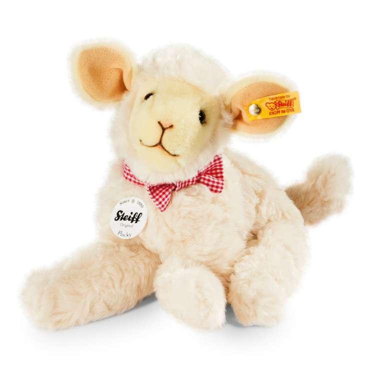 Steiff Flocky Lamm (24cm) in cremefarbe für 31,14€ inkl. Versand (statt 36€)