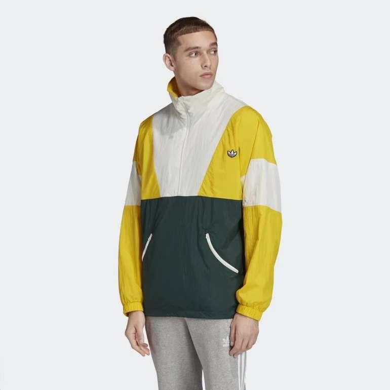 Adidas Track Top in gelb/weiß/grün für 33,98€ inkl. Versand (statt 68€)