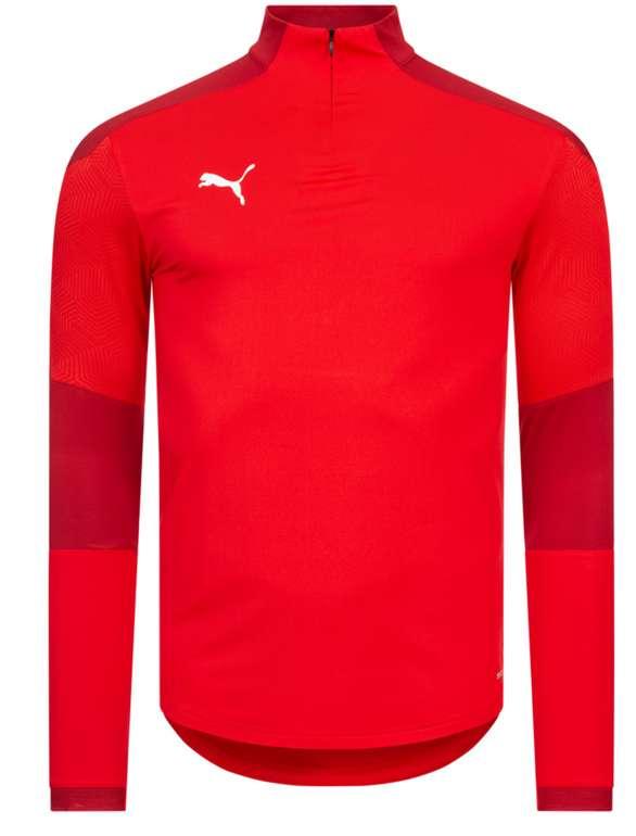 Puma teamFINAL21 1/4 Zip Herren Sweatshirt (versch. Farben) für je 21,94€ inkl. Versand (statt 30€)