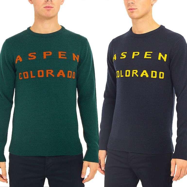 Brave Soul Aspen Colorado Herren Pullover für je nur 7,77€ zzgl. Versand