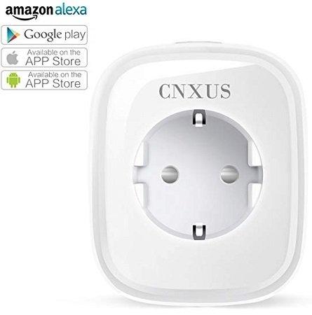 CNXUS - Intelligente WLAN Steckdose kompatibel mit Alexa / Google Home für 9,99€