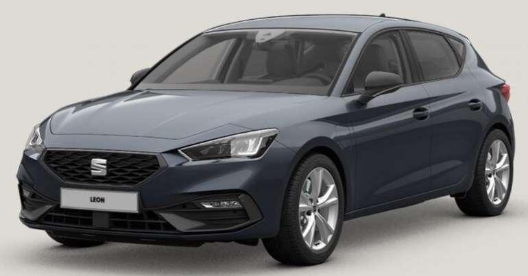 Gewerbe Leasing: Seat Leon FR 1.4 e-Hybrid mit 204 PS 6-Gang DSG + Parklenkassistent für 133€ netto mtl. (LF: 0,40)