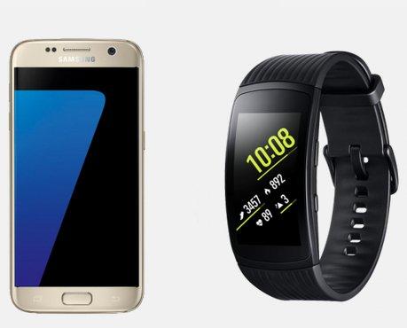 Samsung Galaxy S7 + Gear Fit2 Pro + Otelo Allnet mit 6GB Daten für 29,99€ mtl.