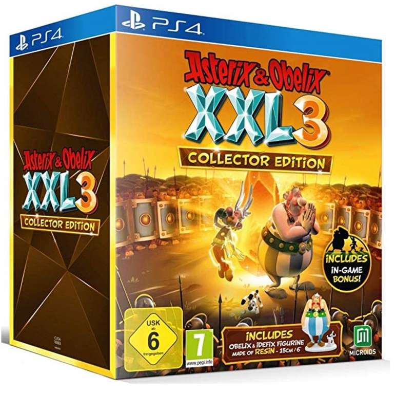 Asterix & Obelix XXL3: The Crystal Menhir - Collectors Edition (PS4) für 52,04€ (statt 67€)