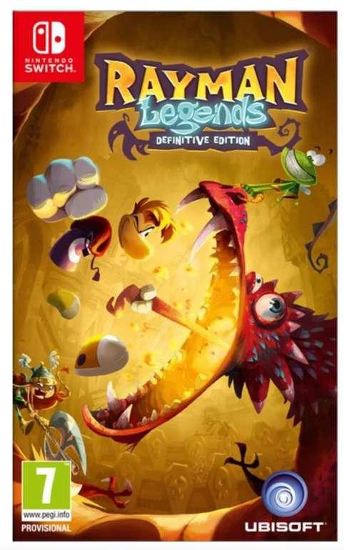 Rayman Legends - Definitive Edition (Switch) für 19,95€ inkl. Versand (statt 24€)