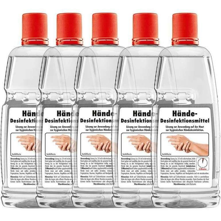 Sonax Hand Desinfektionsmittel (5 x 1 L) für 7,99€ inkl. Versand (statt 20€)