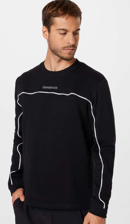 Reebok Training Essentials Piping Sweatshirt für 23,89€ inkl. Versand (statt 45€)