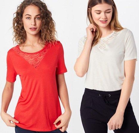 "ONLY Damen Shirt ""Nicole"" für 10,71€ inkl. VSK (statt 16€)"