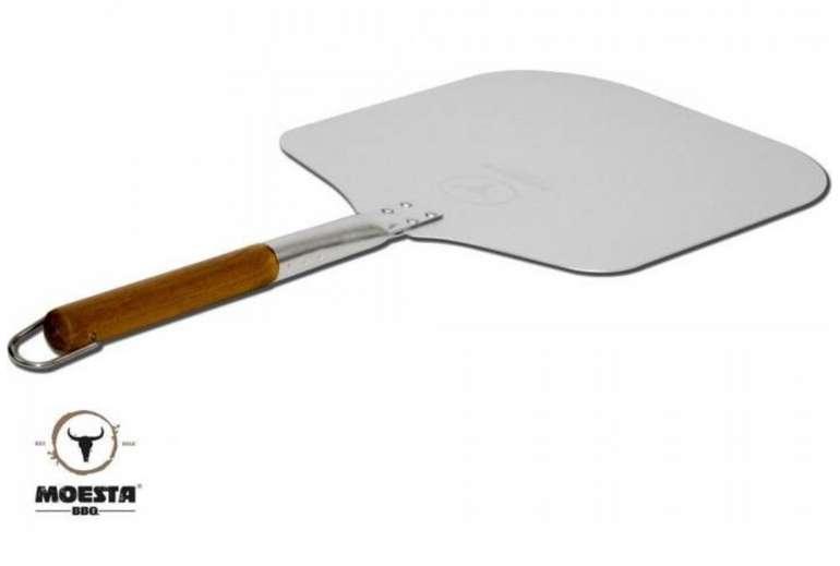 Moesta Pizzaschieber No. 1, Grillbesteck aus Aluminium/Holz für 22,90€inkl. Versand (statt 30€)