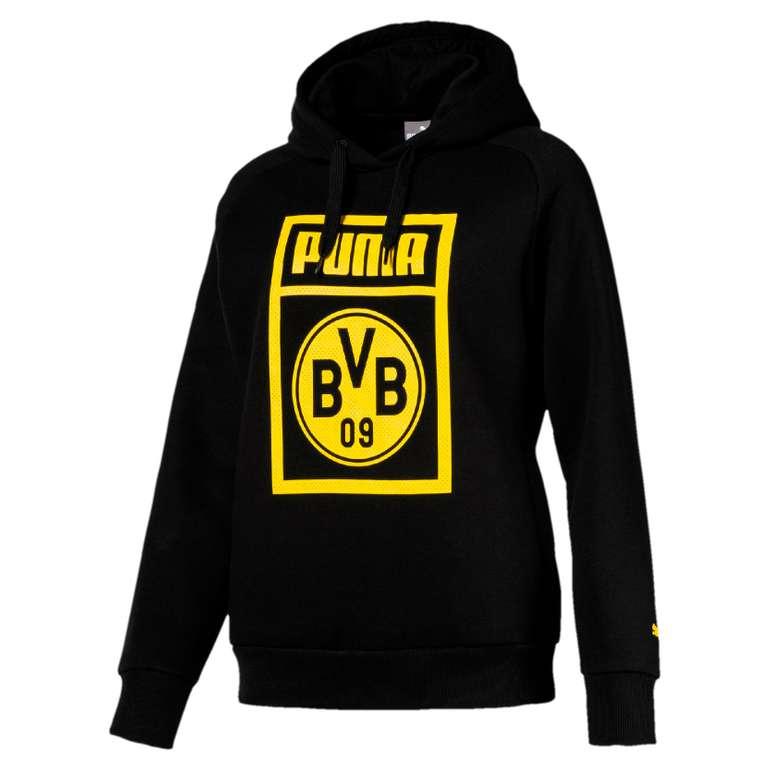 BVB Sale mit bis zu -80% Rabatt bei Sport-1a + 20% Extra, - z.B. Damen Kapuzenpullover für 21,98€