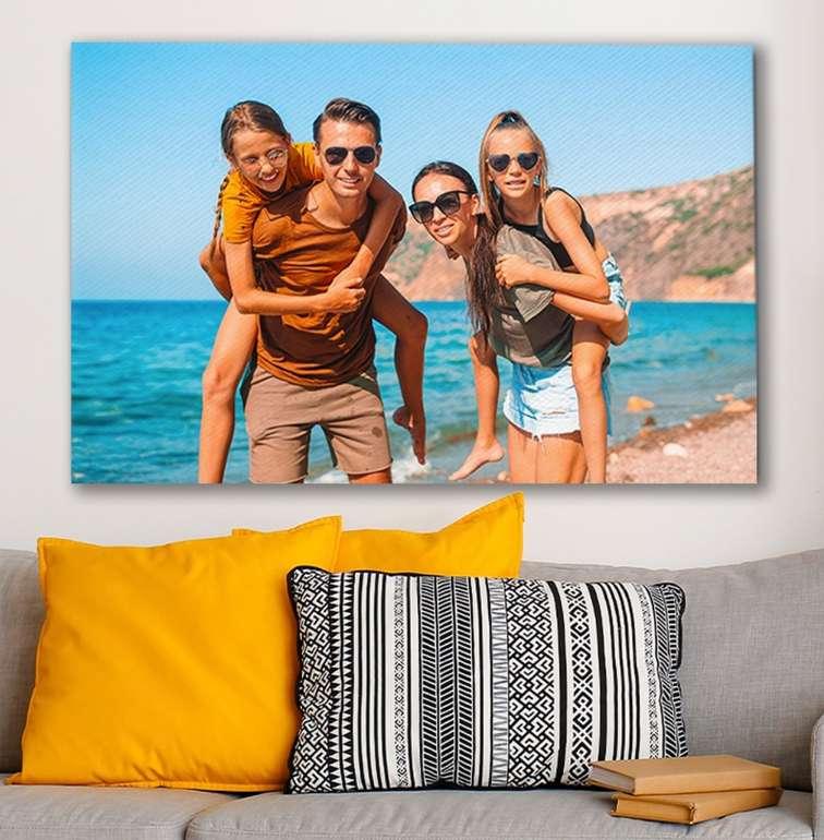 Lieblingsfoto: Leinwand mit eigenem Foto (Format: 40x60 cm) für 11,99€ inkl. Versand