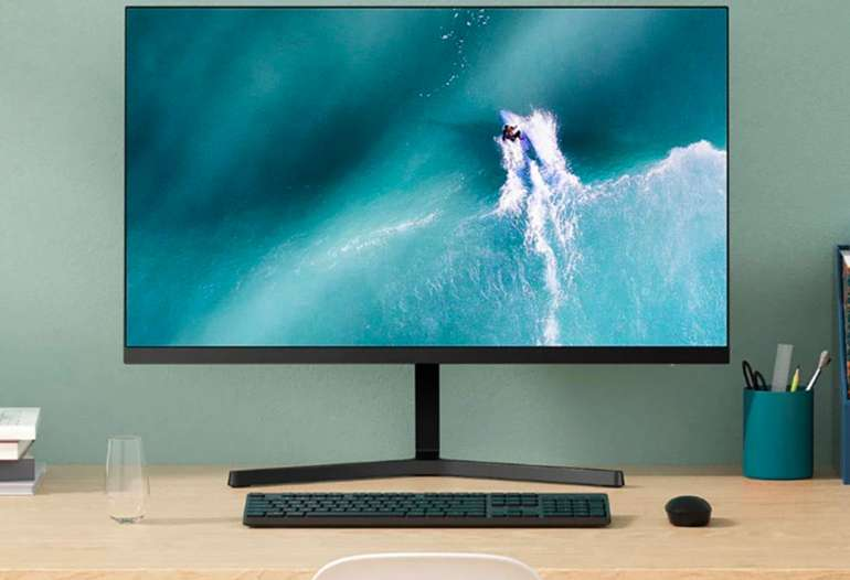 "Xiaomi Redmi - 23"" Monitor (Full-HD, IPS, 178°, nahezu randloses Display)"