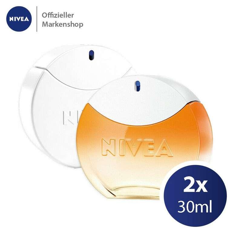 Nivea Eau de Toilette Duftset: 30ml Creme Duft + 30ml SUN Damen Parfüm (EdT) für 42,99€ inkl. Versand