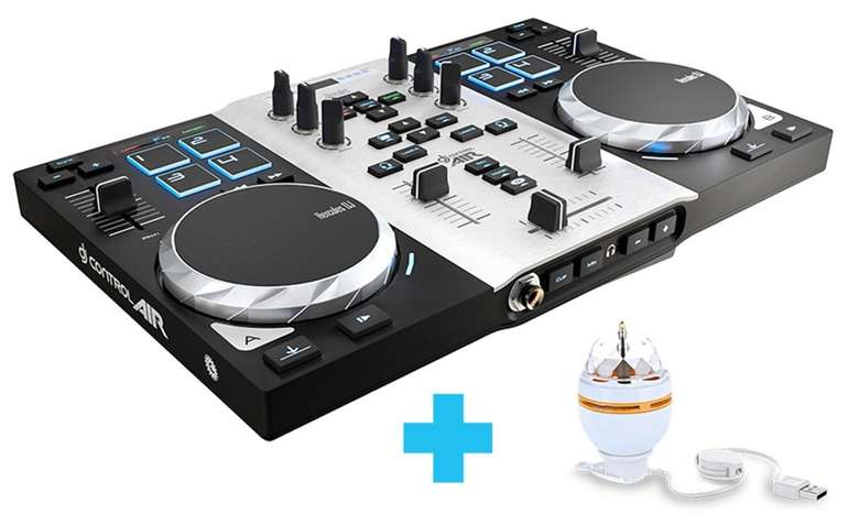 Hercules DJ Control Air S - DJ-Controller für 65,90€ inkl. Versand (statt 103€)