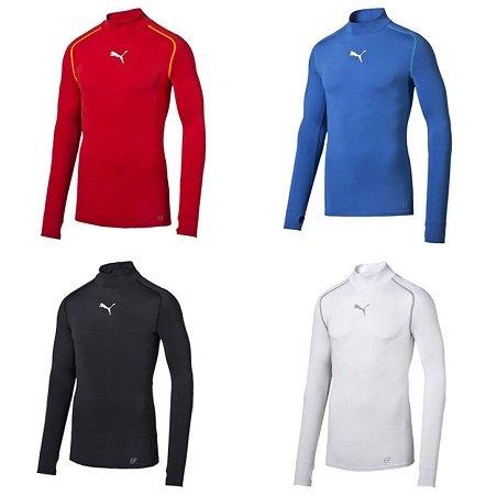 Puma TB Longsleeve Shirts Warm Mock für 24,95€ inklusive Versand (statt 30€)