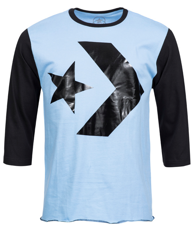 Converse Herren 3/4 Arm Shirt in zwei Farben für 3,33€ + 3,95€ Versand