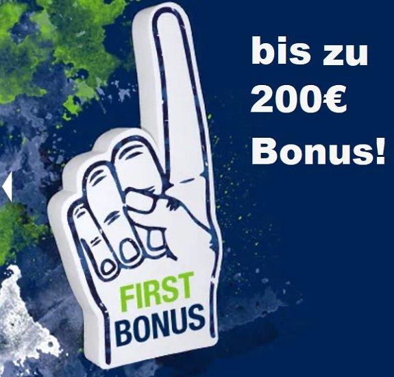 bet-at-home: 50% Ersteinzahlerbonus (bis zu 200€) - Direkt heute FC Bayern vs. Dortmund tippen!