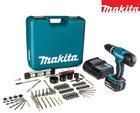 Makita DHP453SFTK Schlagbohrschrauber + Akku + 101-tlg. Zubehörsatz für 158,90€